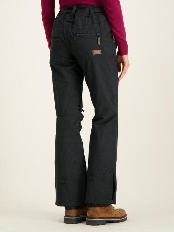 Roxy Roxy Παντελόνι σκι Nadia ERJTP03087 Μαύρο Tailored Fit