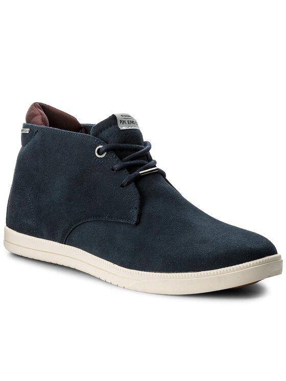 Pepe Jeans Pepe Jeans Μποτίνια Bolton Sand PMS50138 Σκούρο μπλε