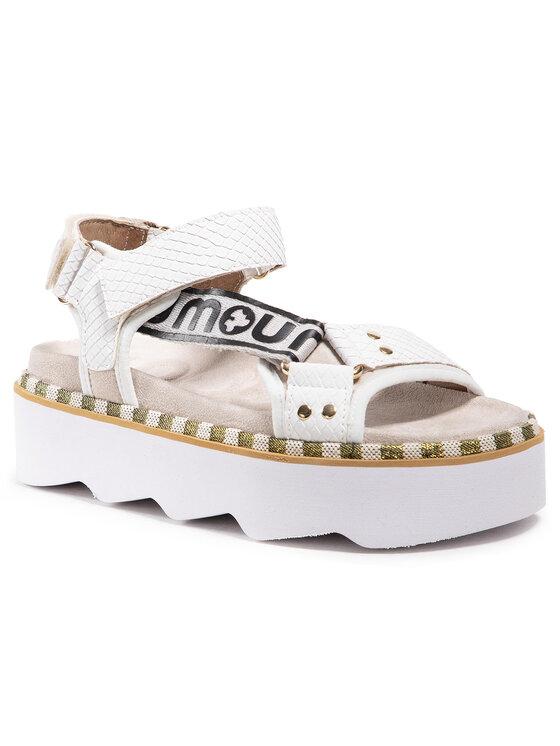 Mou Basutės New Bio Sandal Side Logo SW271006N Balta