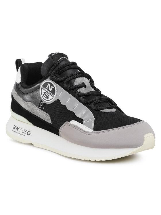 North Sails Laisvalaikio batai RW/03 Frost 040 Juoda