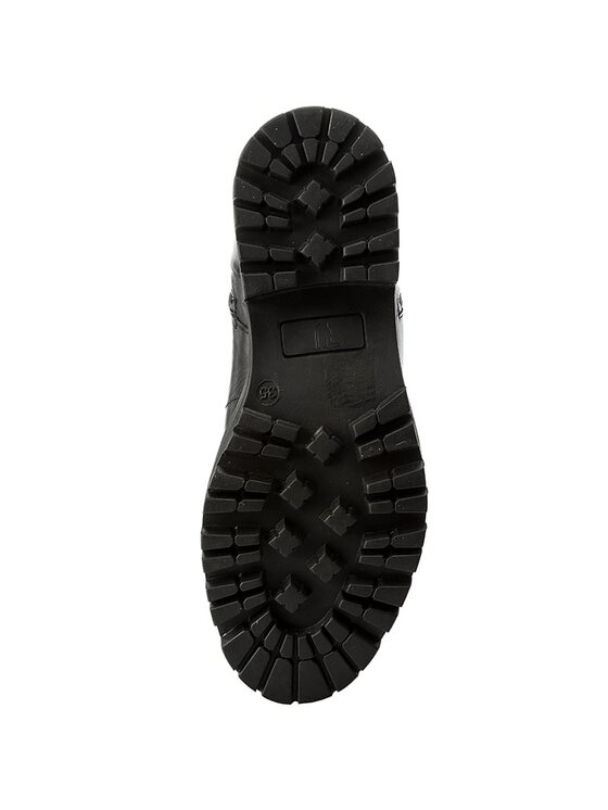 Trussardi Trussardi Jeans Outdoorová obuv 79A00050 Čierna
