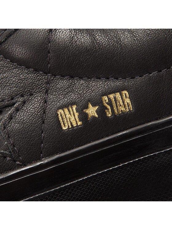 Converse Converse Сникърси One Star Platform Ox 559898C Черен