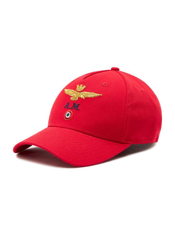 Aeronautica Militare Kepurė su snapeliu 211HA1072CT2848 Raudona