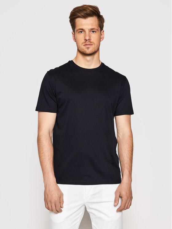 Baldessarini Marškinėliai B4 20006/000/5015 Tamsiai mėlyna Regular Fit