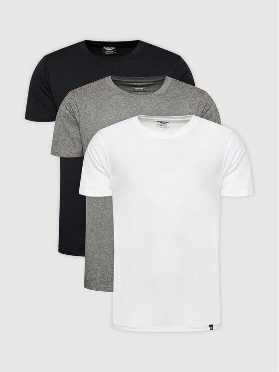 Dickies 3 marškinėlių komplektas Tsht Pk DK621114AS0 Juoda Regular Fit
