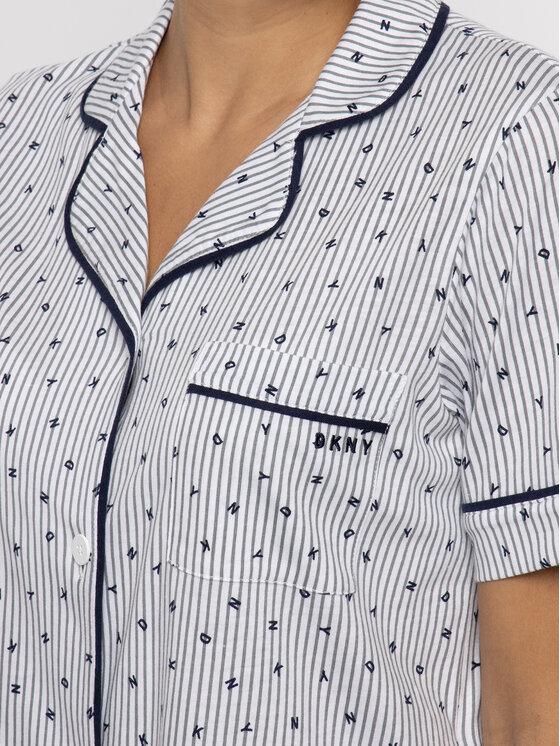 DKNY DKNY Pyžamo YI2819259 Bílá