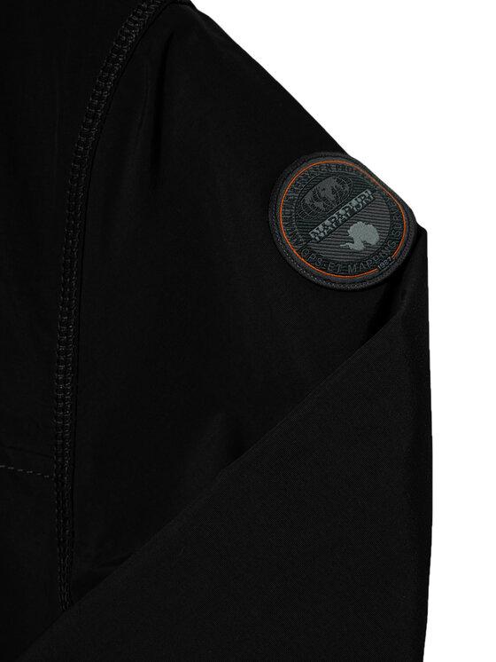 Napapijri Napapijri Átmeneti kabát Rainforest NP0A4EPL M Fekete Regular Fit