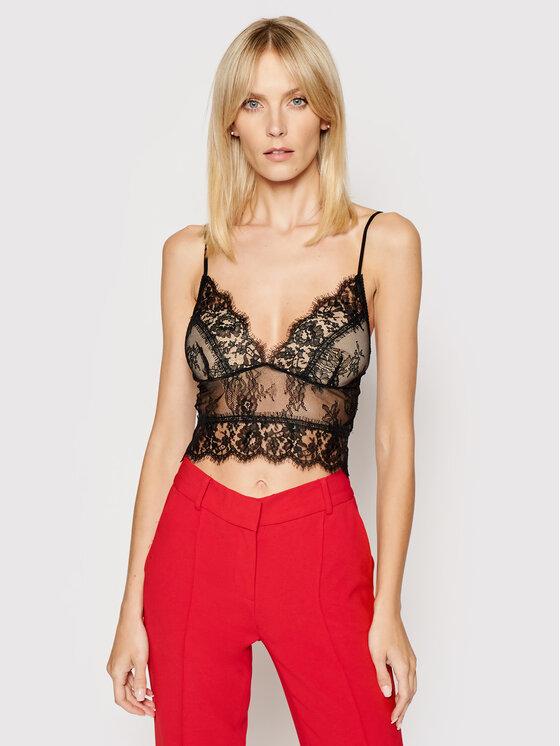 Ermanno Firenze Marškinėliai TO29PIZ Juoda Slim Fit