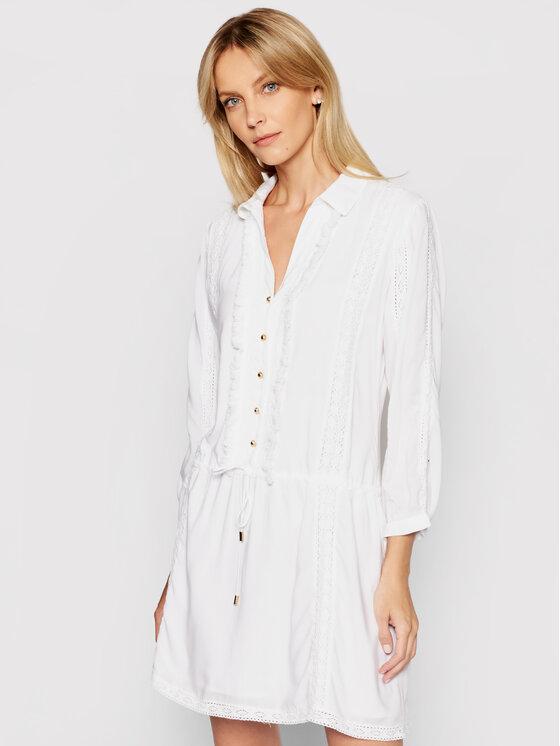 Melissa Odabash Marškinių tipo suknelė Scarlett CR Balta Regular Fit