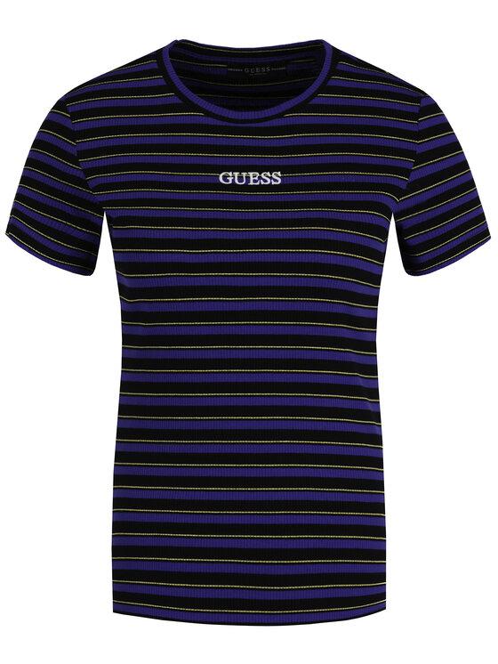 Guess Guess T-Shirt W94I58 K9404 Έγχρωμο Slim Fit