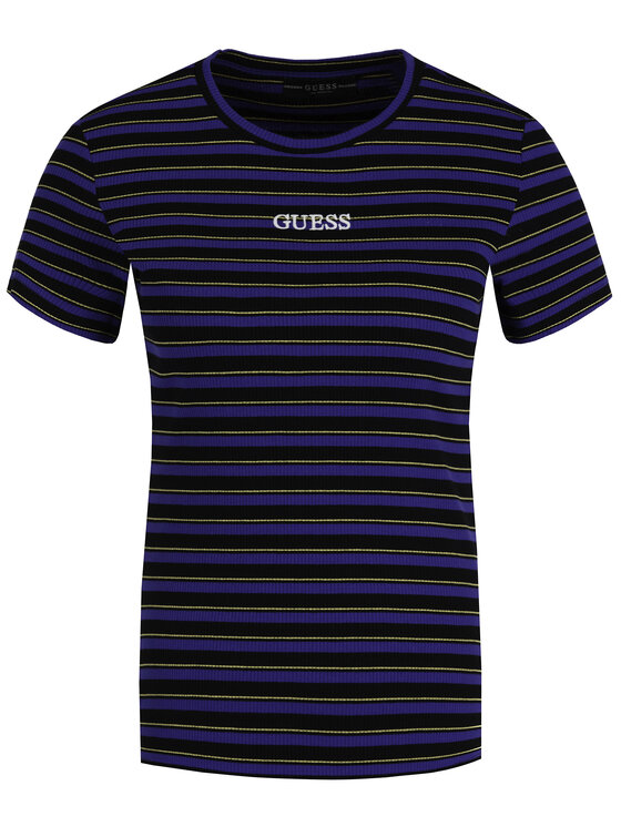 Guess Guess T-shirt W94I58 K9404 Multicolore Slim Fit