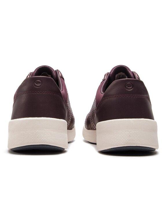 Clarks Clarks Sneakersy Un Alfresco Lo 261382744 Bordowy