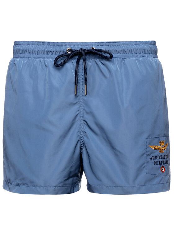 Aeronautica Militare Aeronautica Militare Pantaloncini da bagno 191BW176CT1537 Blu scuro Slim Fit
