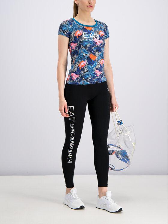 EA7 Emporio Armani EA7 Emporio Armani T-shirt 3GTT24 TJ12Z 2554 Bleu Slim Fit