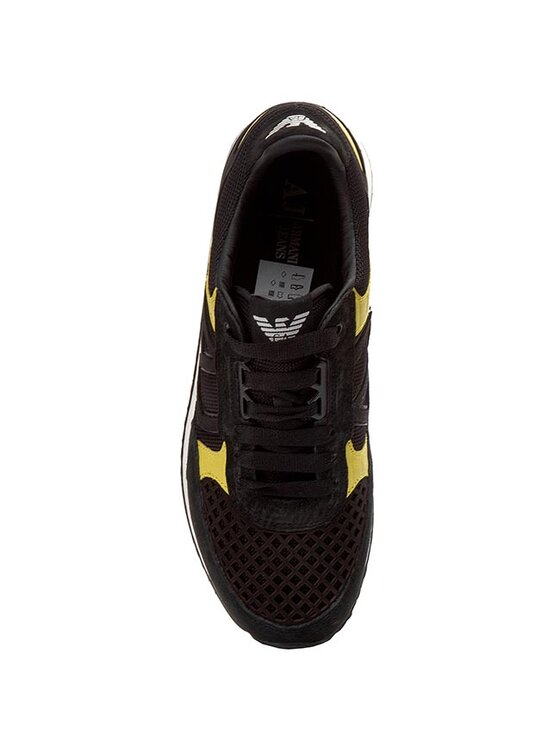 Armani Jeans Armani Jeans Sportcipő B6512 76 12 Fekete