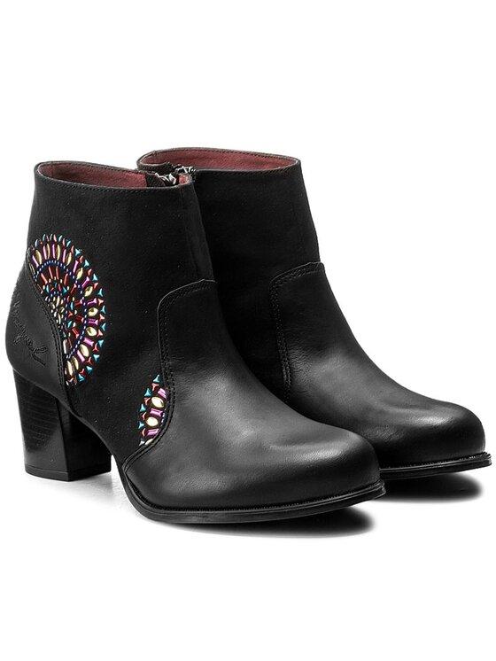Desigual Desigual Členková obuv Cris Valkiria Studs 17WSALF0 Čierna
