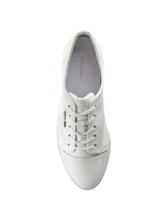 Calvin Klein Calvin Klein Sneakers aus Stoff Hamilton N11899 Weiß