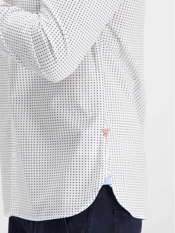 Guess Guess Marškiniai M93H25 W8BX0 Balta Regular Fit