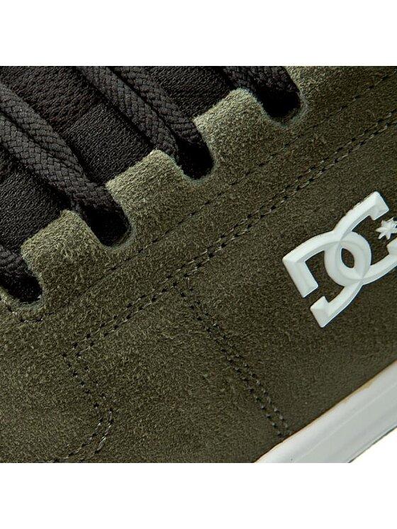 DC DC Chaussures basses Lynx ADYS100101 Vert