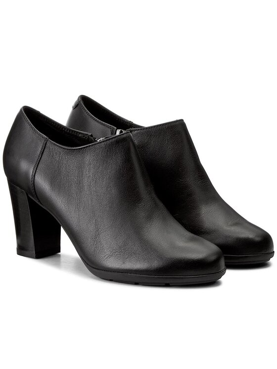 Geox Geox Κλειστά παπούτσια D Anny A A D745FA 08543 C9999 Μαύρο