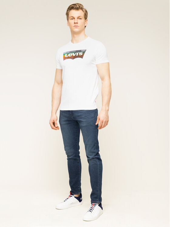 Levi's® Levi's T-Shirt Housemark Graphic Tee 22489-0207 Λευκό Regular Fit