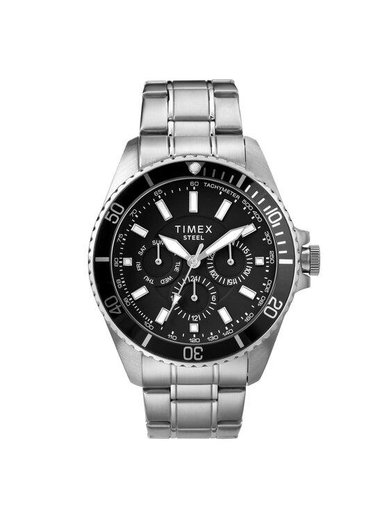 Timex Laikrodis Multifunction TW2T58900 Sidabrinė