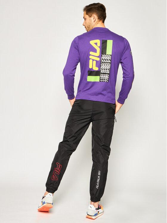 Fila Fila Spodnie dresowe Cappy 687683 Czarny Regular Fit
