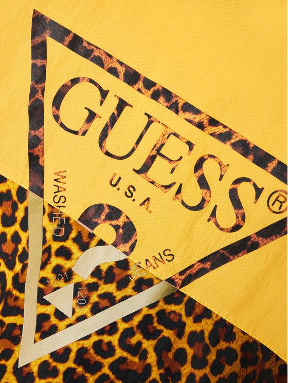 Guess Guess Kurtka anorak J1RL02 WDM50 Żółty Regular Fit