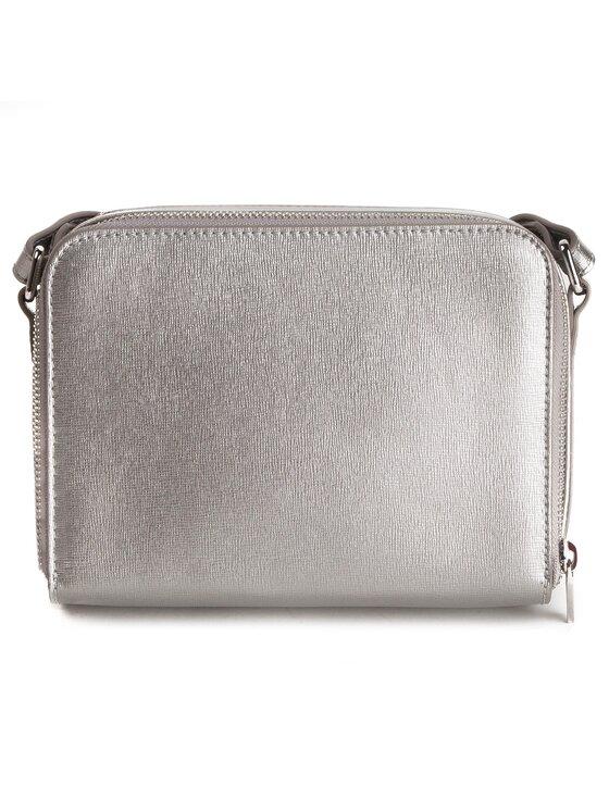 Coccinelle Coccinelle Дамска чанта DV3 Mini Bag E5 DV3 55 H7 05 Сребрист