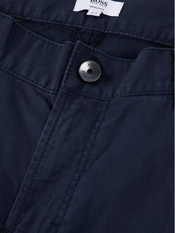 Boss Boss Short en tissu J24629 D Bleu marine Regular Fit