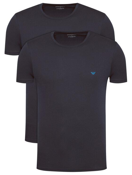 Emporio Armani Underwear 2 marškinėlių komplektas 111267 1P722 27435 Tamsiai mėlyna Regular Fit
