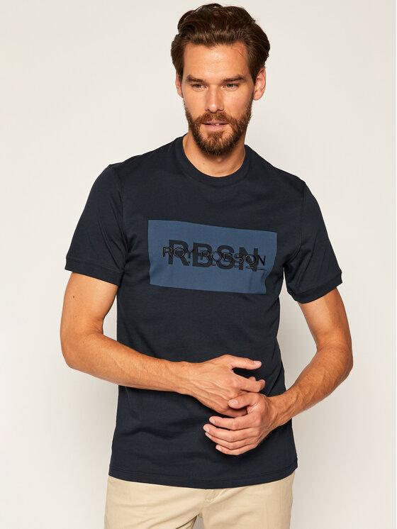 Roy Robson Marškinėliai 2831-90 Tamsiai mėlyna Regular Fit