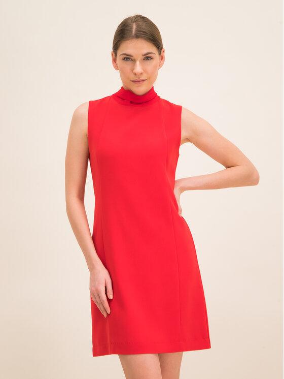 iBlues Kokteilinė suknelė 72262596 Raudona Regular Fit