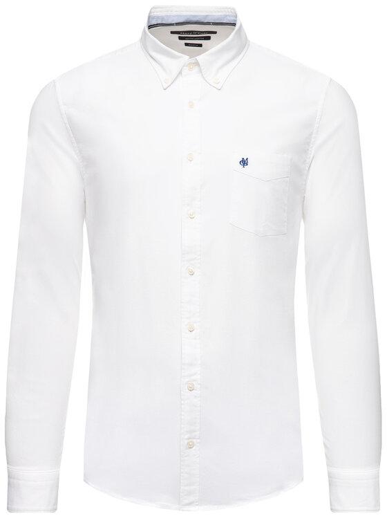 Marc O'Polo Marc O'Polo Риза 021 7501 42202 Бял Shaped Fit