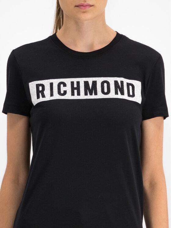 John Richmond John Richmond T-Shirt RWP19028TS Μαύρο Regular Fit