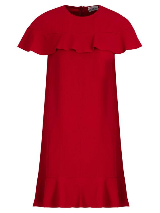 Red Valentino Red Valentino Sukienka codzienna SR3VAF15 Czerwony Regular Fit