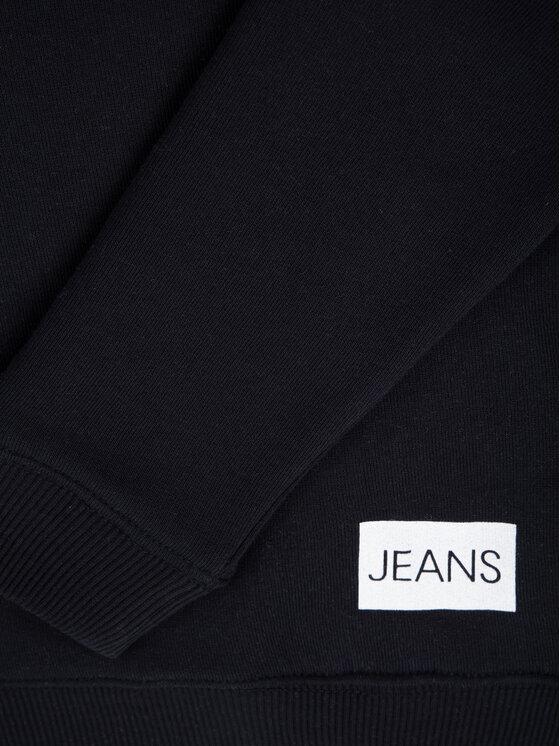 Calvin Klein Jeans Calvin Klein Jeans Mikina Institutional IU0IU00040 Černá Regular Fit