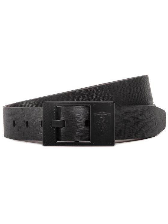 Puma Puma Pánský pásek Sf Ls Leather Belt 053472 01 Černá