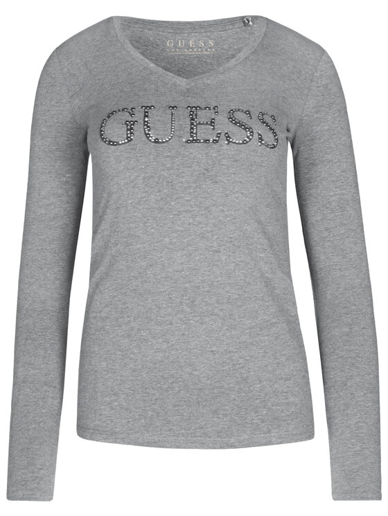 Guess Guess Blusa W93I70 J1300 Grigio Slim Fit
