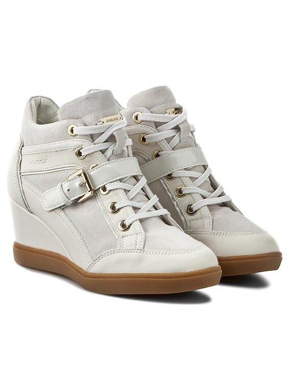 Geox Geox Sneakers D Eleni C D6267C 02285 C1002 Weiß