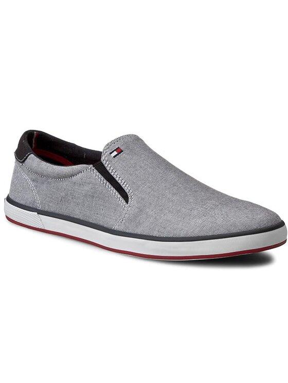 Tommy Hilfiger Tommy Hilfiger Sneakers aus Stoff Harlow 2E FM56820908 Grau