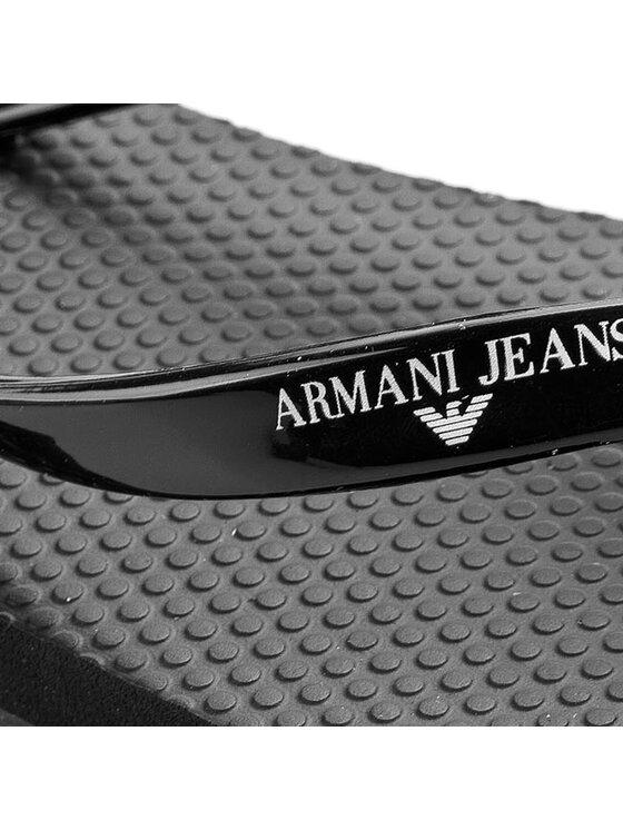 Armani Jeans Armani Jeans Infradito A55F5 61 12 Nero