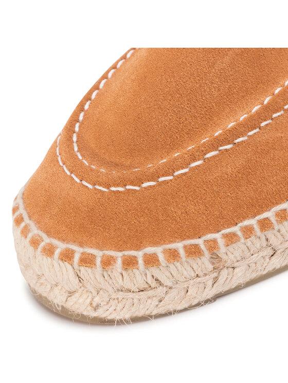 Manebi Manebi Espadryle Loafers W 1.1 L0 Brązowy