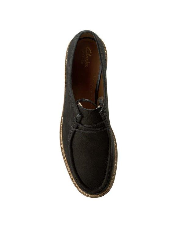 Clarks Clarks Κλειστά παπούτσια Glick Bayview 261199894 Μαύρο
