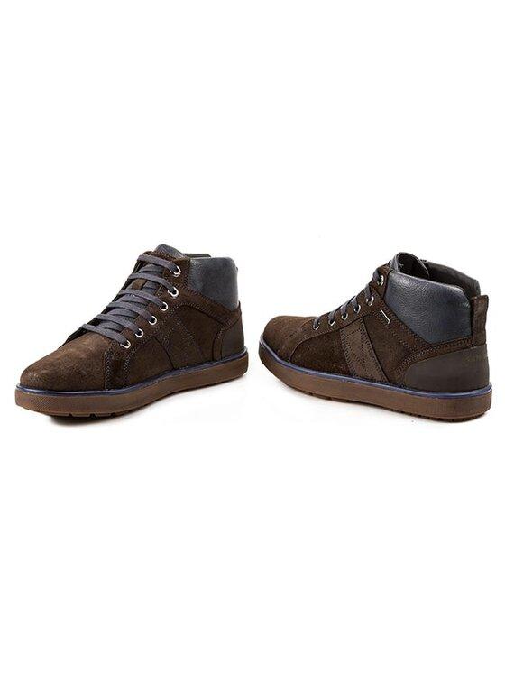Geox Geox Κλειστά παπούτσια U Mattias B Abx D U44T1D 0023 C6004 Καφέ