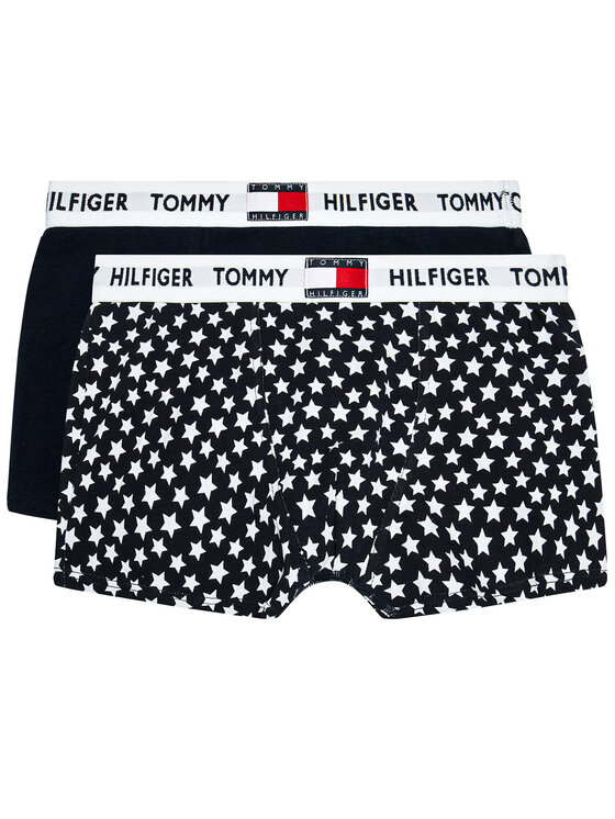 Tommy Hilfiger Tommy Hilfiger Komplet 2 par bokserek UB0UB00364 Granatowy