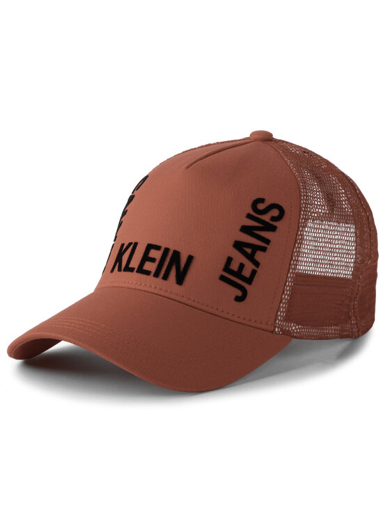 Calvin Klein Jeans Calvin Klein Jeans Шапка с козирка J Trucker Mesh Cap K50K504321 Червен