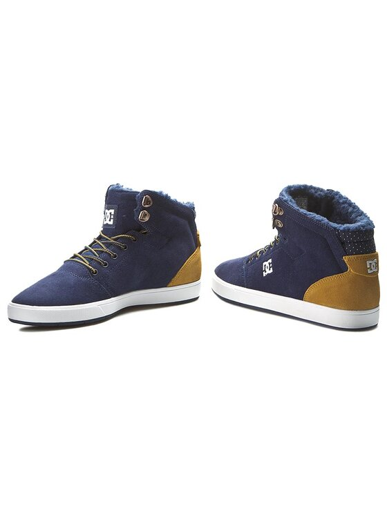 DC DC Sneakersy Crisis High Wnt ADYS100116 Granatowy