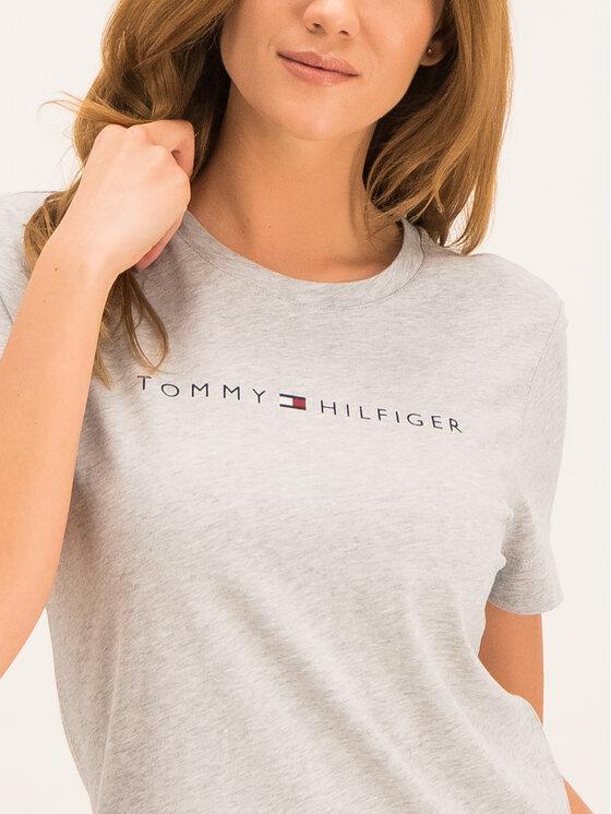 Tommy Hilfiger Tommy Hilfiger T-shirt Essential WW0WW25281 Grigio Regular Fit