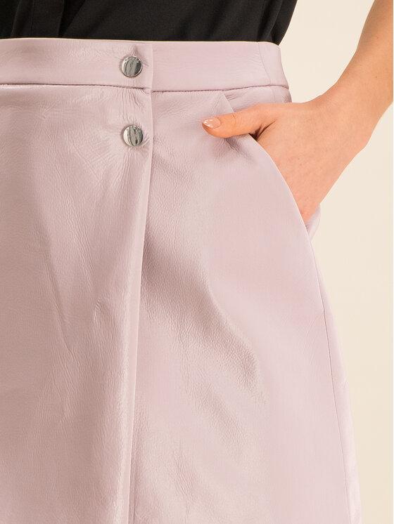Guess Guess Spódnica trapezowa Halah W01D20 WCKC0 Różowy Regular Fit